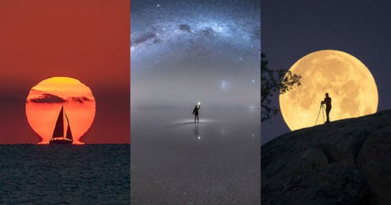 36 Awe-Inspiring Sun, Moon, and Milky Way Photos of 2020