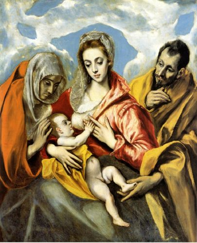 Madonnas attributed to Domenikos Theotokopoulos, known as El Greco