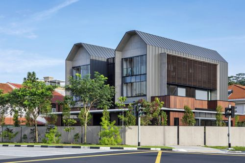 The Pair House / LOOK Architects