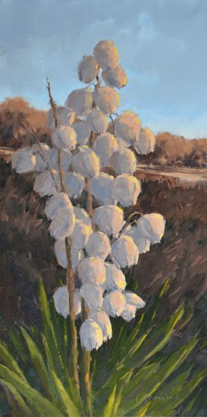 Seaside Blossoms - Getting Started with a Strong Underpainting