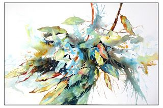Gentle Sway..Watercolor.Texas Artist.Rae Andrews