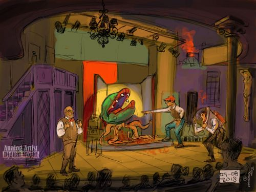 Little Shop of Horrors in Eustice