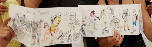 Last day - more workshops, final sketchcrawl and. see you next year in Amsterdam!