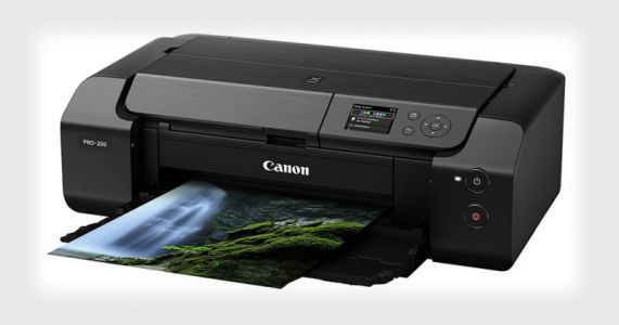 Canon Unveils the PIXMA PRO-200 Pro Photo Printer with Improved Inks