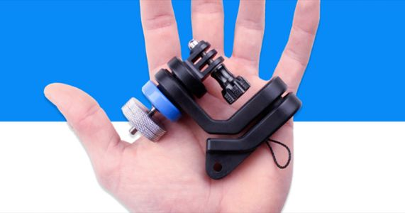 GravGrip is a Battery-Free Hydraulic Stabilizer for Phones and GoPros
