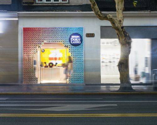 A Future Store Made by Coffee Capsules / SODA Architects