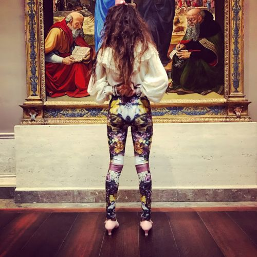 The Butterfly Effect, New Fine Art Leggings from The House Of Oaxaca