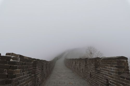 A Rare Glimpse at a Deserted Great Wall of China Captured by Andres Gallardo Albajar