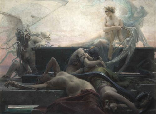 The end of all things (1887) by Maximilian Pirner