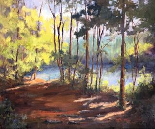 Solitude, 20x24, oil on canvas by Ann Phifer Reyes