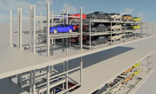 Fully Automated Parking Solutions: Space-saving systems with superior user experience