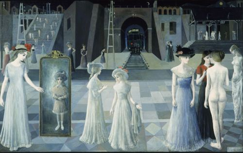Paul Delvaux.September 23 1897 - July 20, 1994