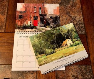 My 2019 calendar is ready for shipping