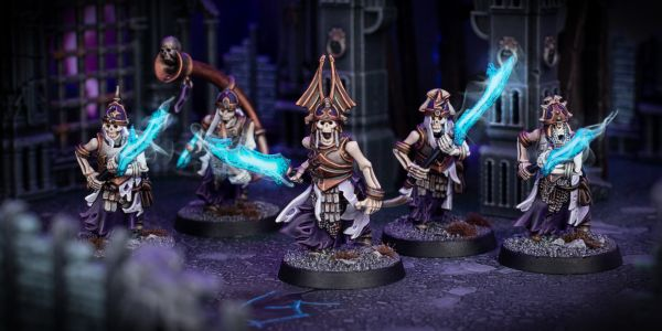 Showcase: Soulblight Gravelords Grave Guard with Great Wight Blades