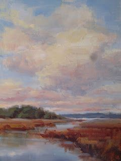 Plein Air Painting in Beaufort South Carolina