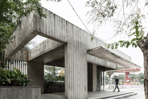 KNG Bus Station / A+D Architectural Design & Constructions