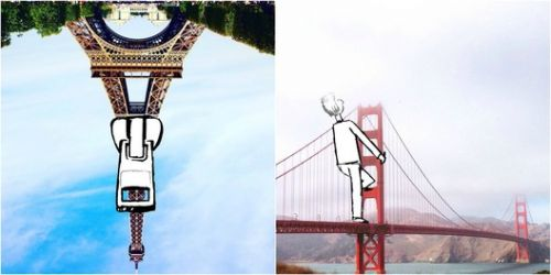 Artsy-Instagrammer is Turning the City Into an Urban Storybook