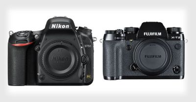 Nikon D750 vs Fujifilm X-T2: Shooting Motorsport