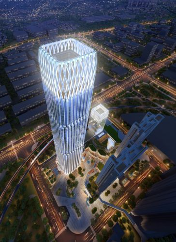 Goettsch Partners Creates New Central Gathering Hub and Landmark Tower in Guangzhou, China