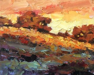 CONTEMPORARY BOLD LANDSCAPE by TOM BROWN