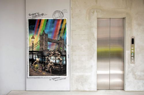 """Rainbow inc. Tower Bridge"" by RoamCouch in Tokyo, Japan"