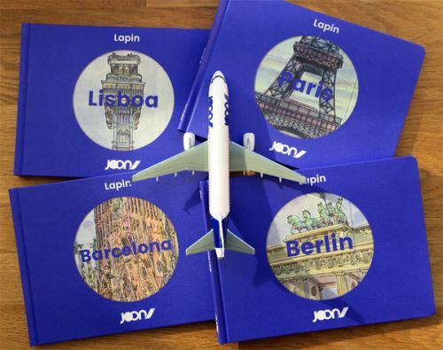 Joon travel books