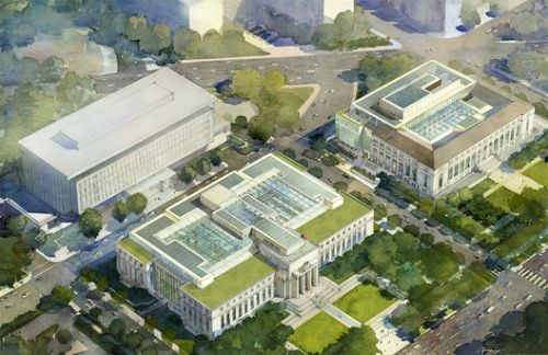 Renovation of Federal Reserve Board Headquarters Portends a Battle Over Civic Architecture