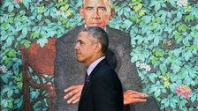 The Obamas Wrest Presidential Portraiture From Its Traditional Trappings