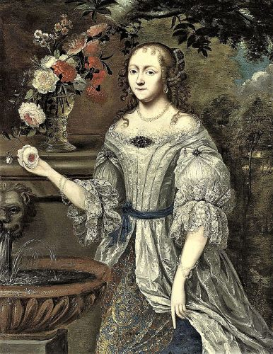 17C Garden Fountains & the Search for Proper Valentine or, perhaps, Wife
