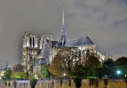 More Update on Notre Dame: The Spire Will be Restored According to the Original Design
