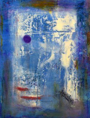 "Non Objective Painting, Contemporary Art ""The Patron"" by International Abstract Artist Arrachme"