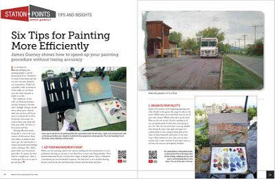 Next up in International Artist: How to Paint More Efficiently