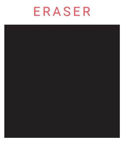 Eraser by Brian Edmonds and Curating Contemporary