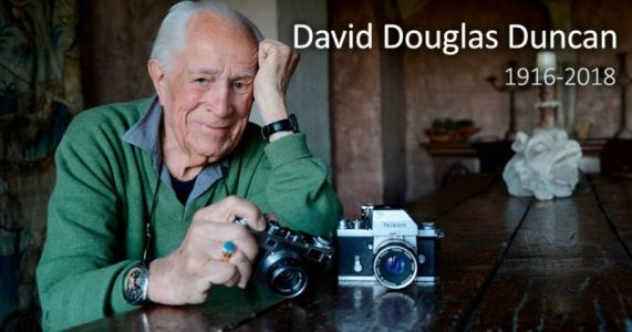 Photojournalist David Douglas Duncan Dies at 102