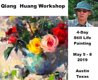 New workshop announcement: 4-day still life painting in Austin