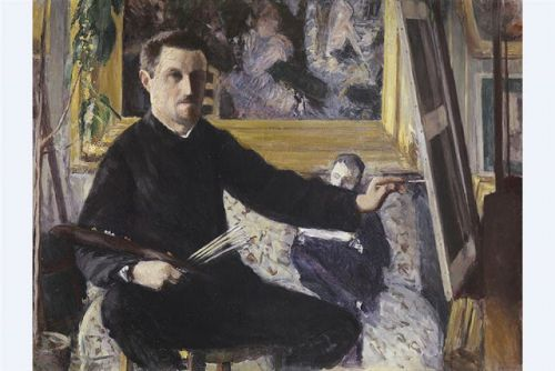 Gustave Caillebotte. Born on this day in 1848