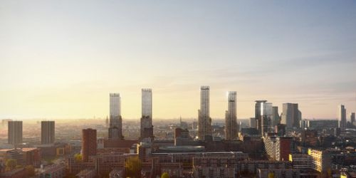 KCAP Reveals Urban Vision to Revitalize the Post-Industrial Landscape of The Hague