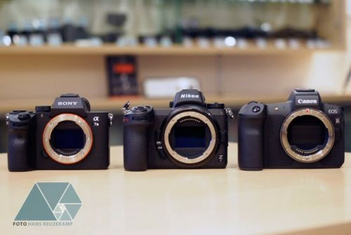 Here's the Sony a7 III, Nikon Z7, and Canon EOS R Side-by-Side