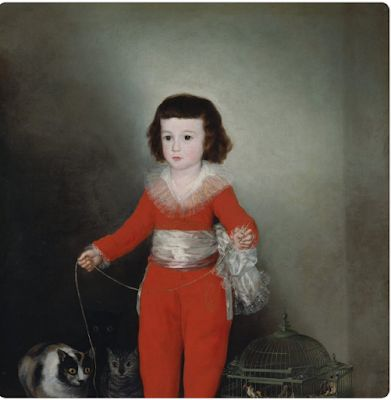 Francisco Goya, Spanish painter of the light and the dark parts of the human soul