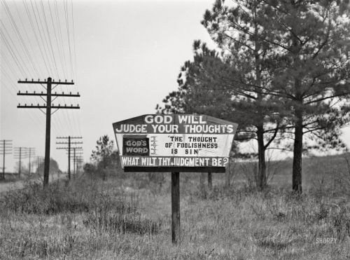Warning Sign: 1940