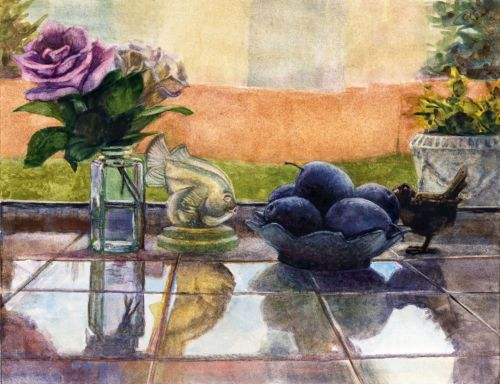 Still Life in Watercolor- 5 Painters on Instagram