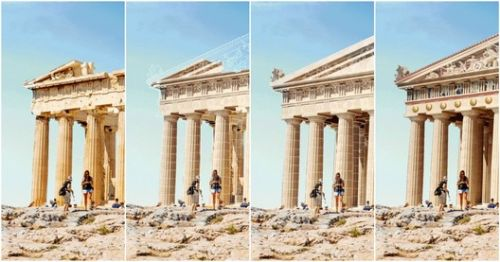 "7 Ancient Ruins Around The World ""Reconstructed"" with GIFs"