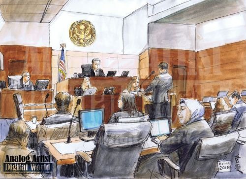 Noor Salman Federal Court hearing