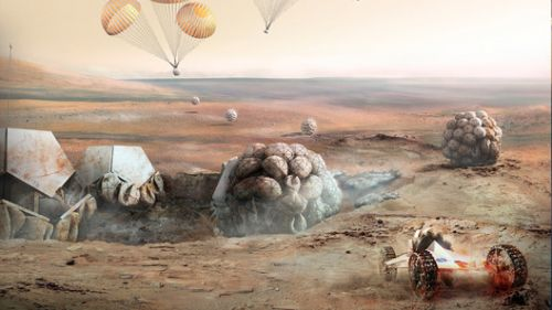 Life on Mars? Foster + Partners to Showcase Extra-Terrestrial Habitats at UK's Goodwood Festival