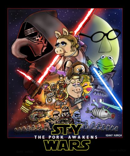 Sty Wars: The Pork Awakens by Kenny Durkin