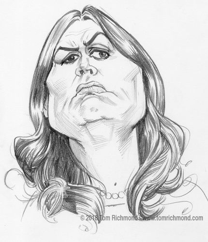 Skech o'the Week- Sarah Huckabee Sanders!