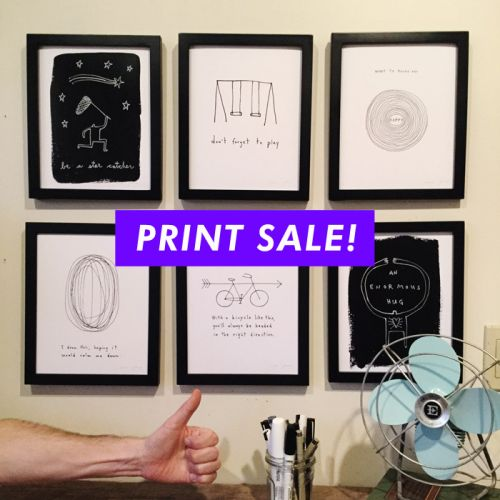 25% off all prints