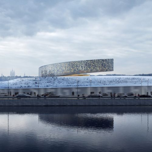 Competition Finalist for Leningrad Siege Museum Reaches for the Sky