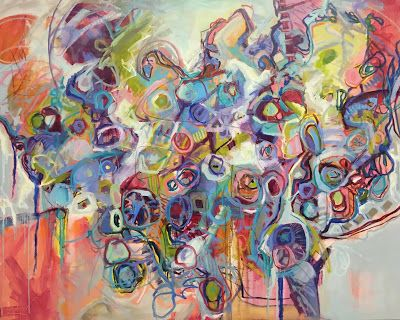 Contemporary Abstract by Kay Wyne