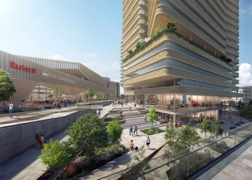 C.F. Møller Architects Release Images of Proposed Urban Realm for Oslo Central Station